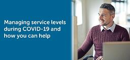 COVID Update - Service Levels-Banner 2 EN