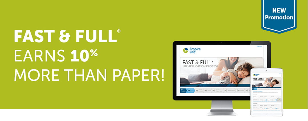 Fast & Full earns 10% more than paper!