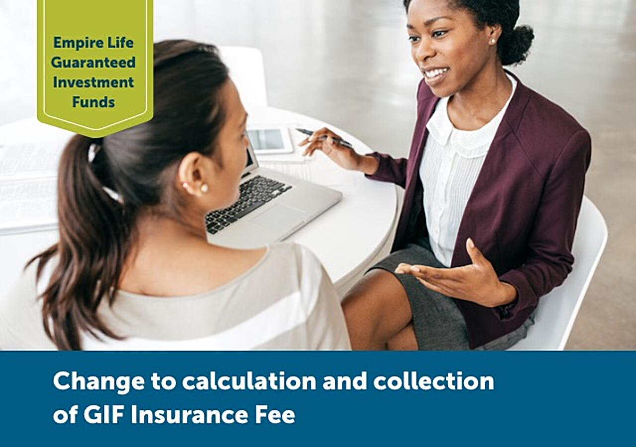 Change to collection of GIF Insurance Fee